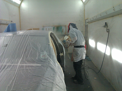 Spray Painting Booth